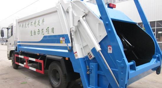 天锦12方压缩垃圾车——结构说明